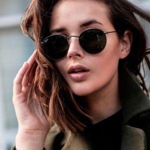Polarized Ray Ban folding sunglasses